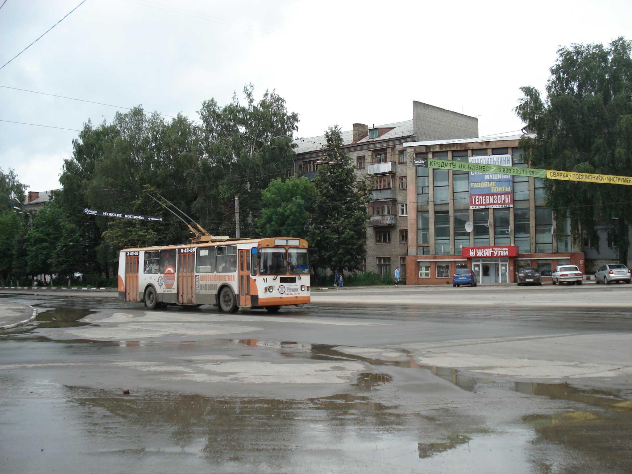 г ковров карта схема маршрута тролебусов